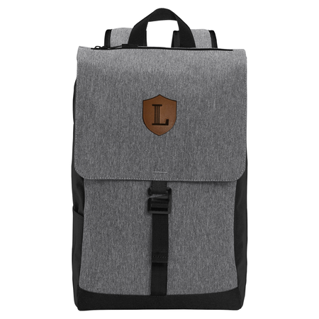 Access Rucksack with Leather Icon Patch