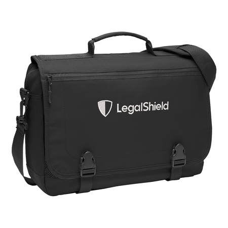 Messenger Briefcase - LegalShield New Logo