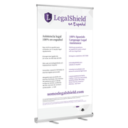"LegalShield en Espanol Retractable Banner Stands (47""x77"")"