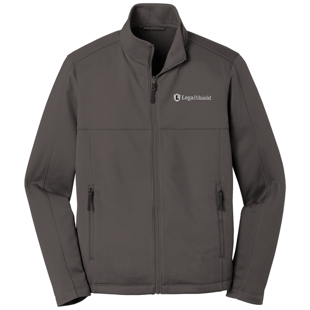 Men's Collective Smooth Fleece Jacket - LegalShield Logo