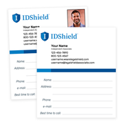 IDShield Follow-Up Cards