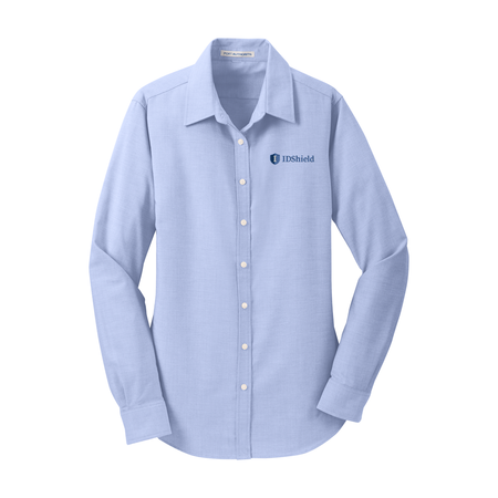 Ladies' SuperPro™ Oxford Shirt - IDShield