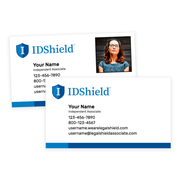 IDShield Peel-and-Stick Business Cards