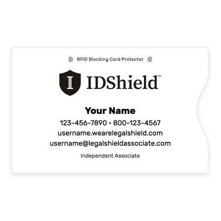 IDShield RFID Blocker Credit Card Sleeve