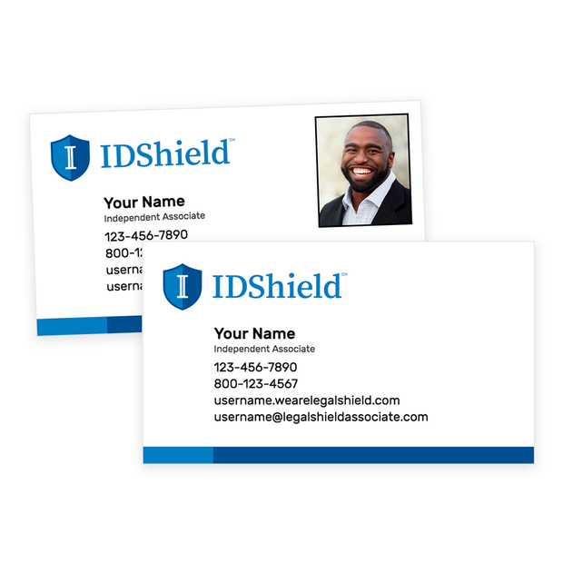 IDShield Standard Business Cards