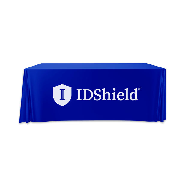 Convertible IDShield Table Throw - 6' to 8'
