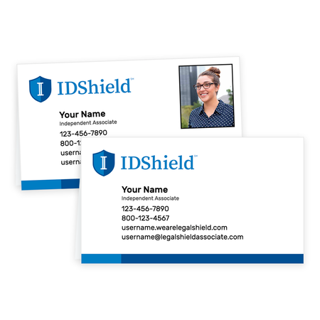 IDShield Tent Cards