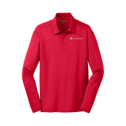 Men's Long-Sleeve Silk Touch Performance Polo - LegalShield Logo