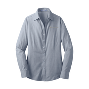 Ladies' Crosshatch Easy Care Shirt - LegalShield Logo
