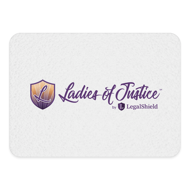 Ladies of Justice 15x11 Glass Cutting Board