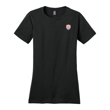 Women's Perfect Weight® Crew Tee - Ladies of Justice logo