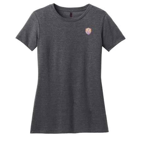 Women's Perfect Blend® Crew Tee - Ladies of Justice Logo