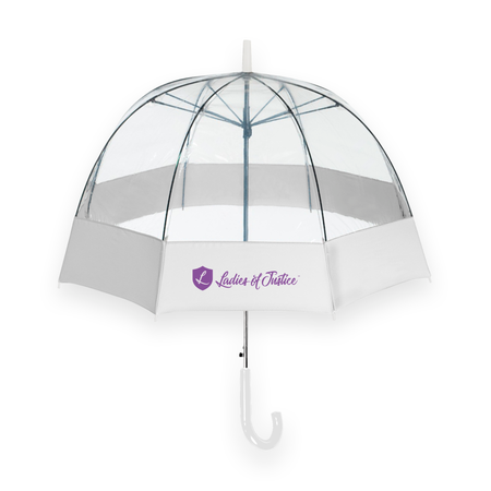 Ladies of Justice Bubble Umbrella (Clearance)