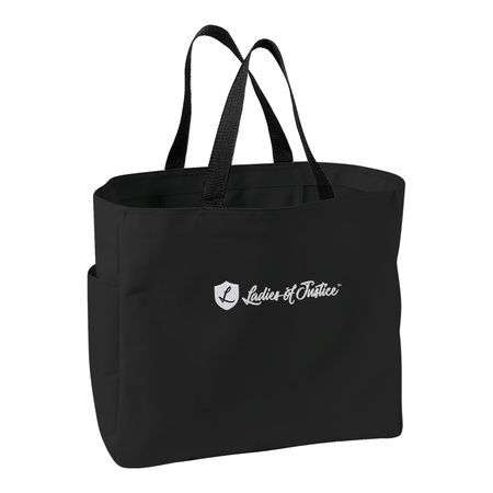 Essential Tote - Ladies of Justice Logo