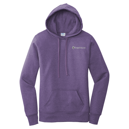 Ladies Core Fleece Pullover Hooded Sweatshirt