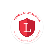 My LegalShield Window Clings