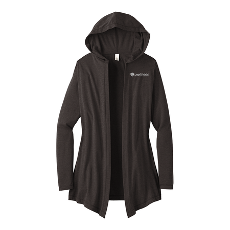 Women's Perfect Tri Hooded Cardigan - LegalShield Logo
