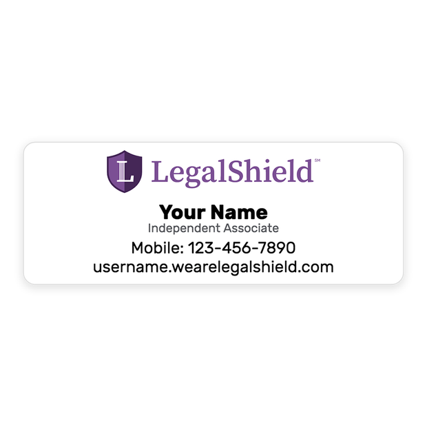 LegalShield Labels