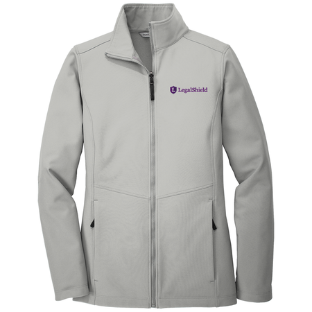 Ladies Collective Soft Shell Jacket - LegalShield Logo