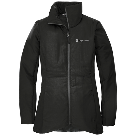 Ladies Collective Insulated Jacket - LegalShield Logo