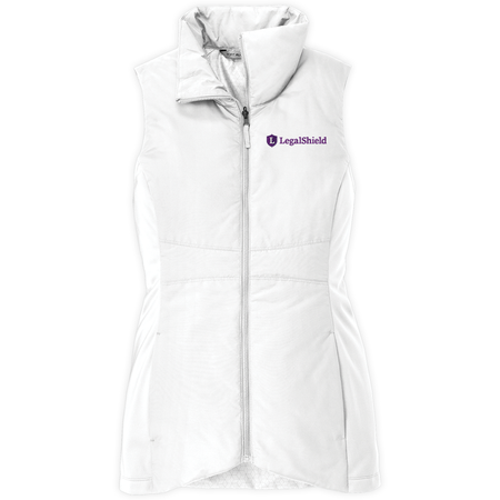 Ladies Collective Collective Insulated Vest - LegalShield Logo