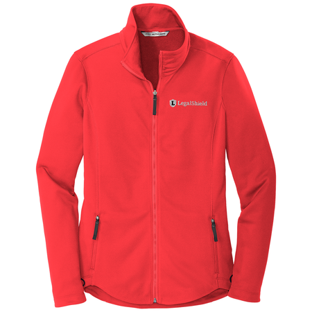 Ladies Collective Smooth Fleece Jacket - LegalShield Logo