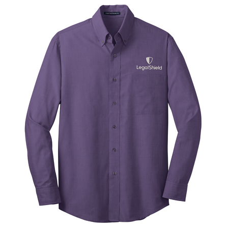 Crosshatch Easy Care Long Sleeve Shirt