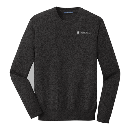 Marled Crew Sweater - LegalShield Logo