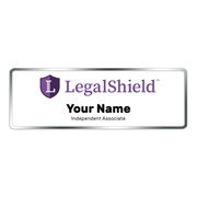 "LegalShield Name Badge - Small (3"" x 1"")"
