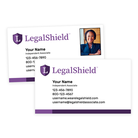 LegalShield Standard Business Cards