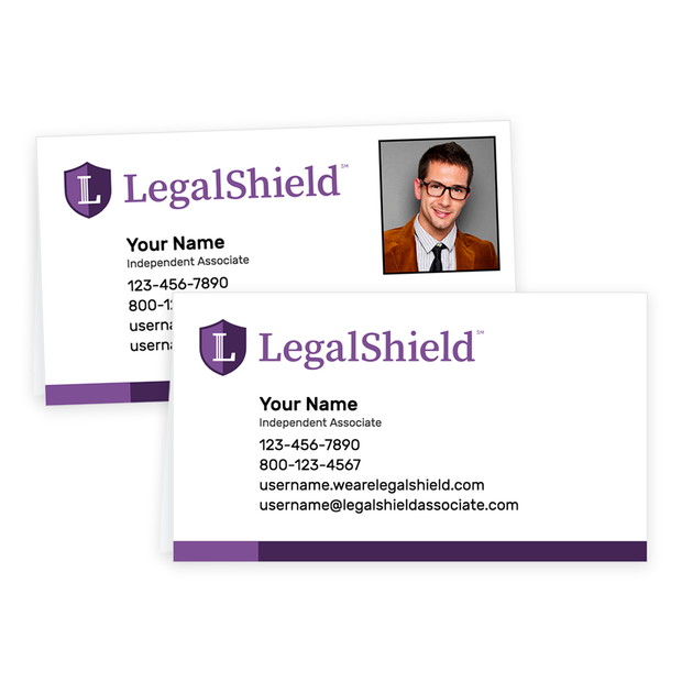 LegalShield Tent Cards