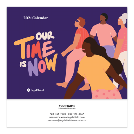 2021 LegalShield Personalized Calendar