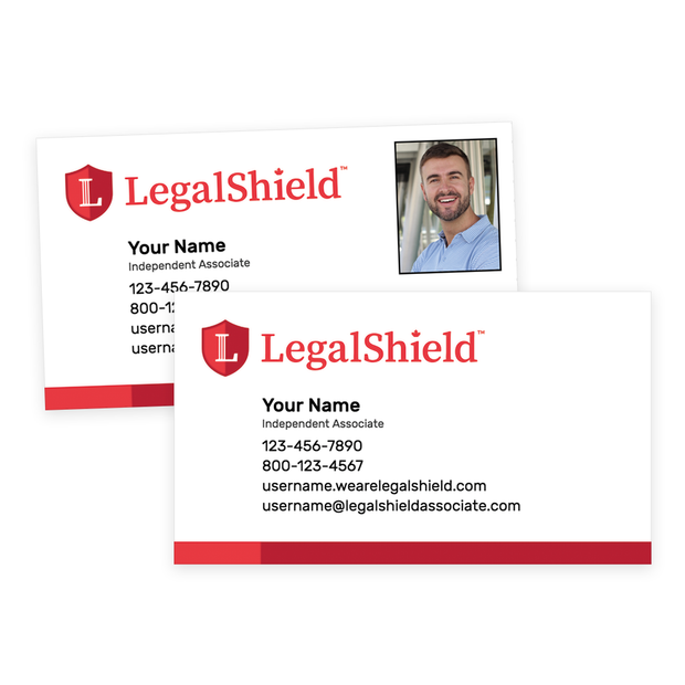 LegalShield Canada Standard Business Cards