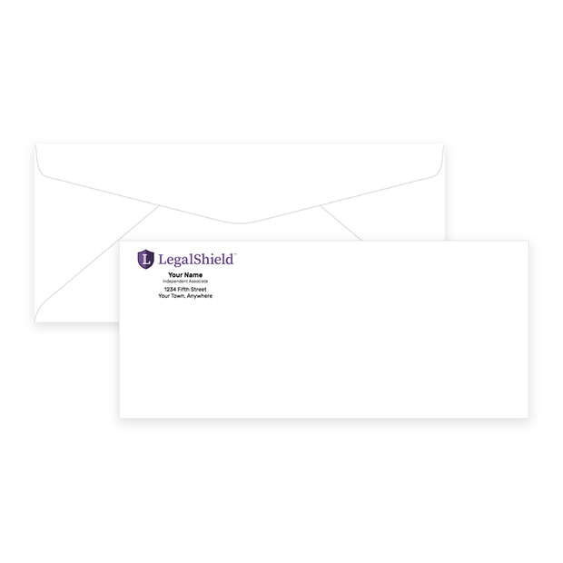 LegalShield #10 Envelopes