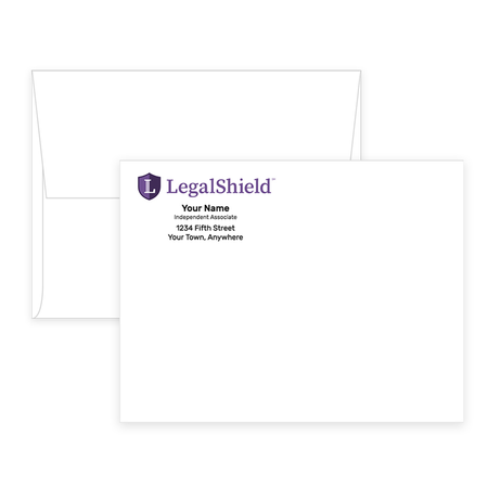 LegalShield Envelopes - A2