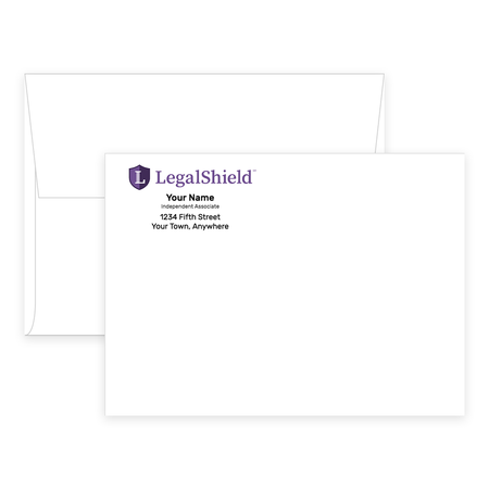 LegalShield Envelopes - A6