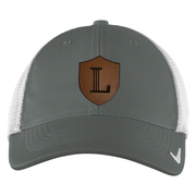 Nike Dri-FIT Mesh Back Cap with Icon Leather Patch
