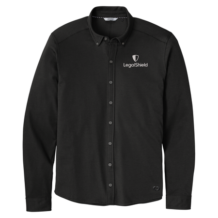 OGIO Code Long Sleeve Stretch Button-Up