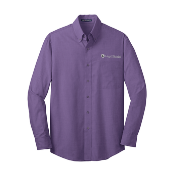 Men's Crosshatch Easy Care Shirt