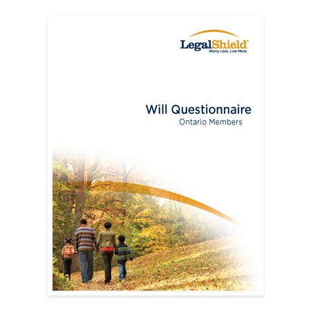 Canada ON Will Questionnaire