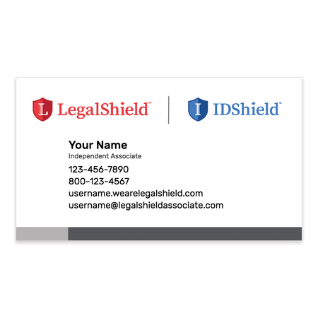 Logo Lock-Up Canada Standard Business Cards