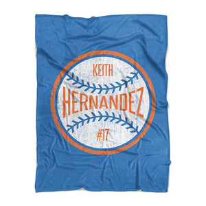 Keith Hernandez Fleece Blanket | 500 LEVEL