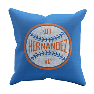 Keith Hernandez Throw Pillow | 500 LEVEL