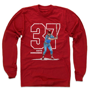 Keith Hernandez Men's Long Sleeve T-Shirt | 500 LEVEL