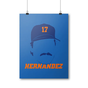 Keith Hernandez Poster | 500 LEVEL
