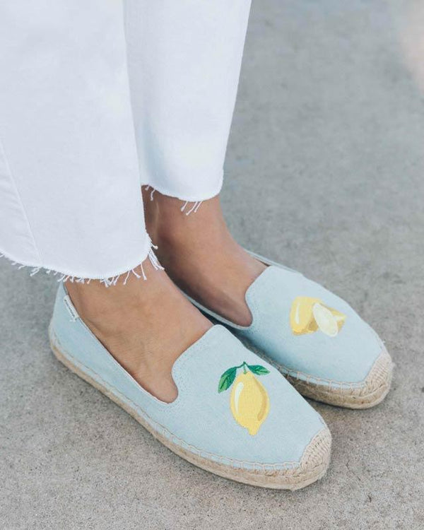 Lemon Platform Smoking Slipper image