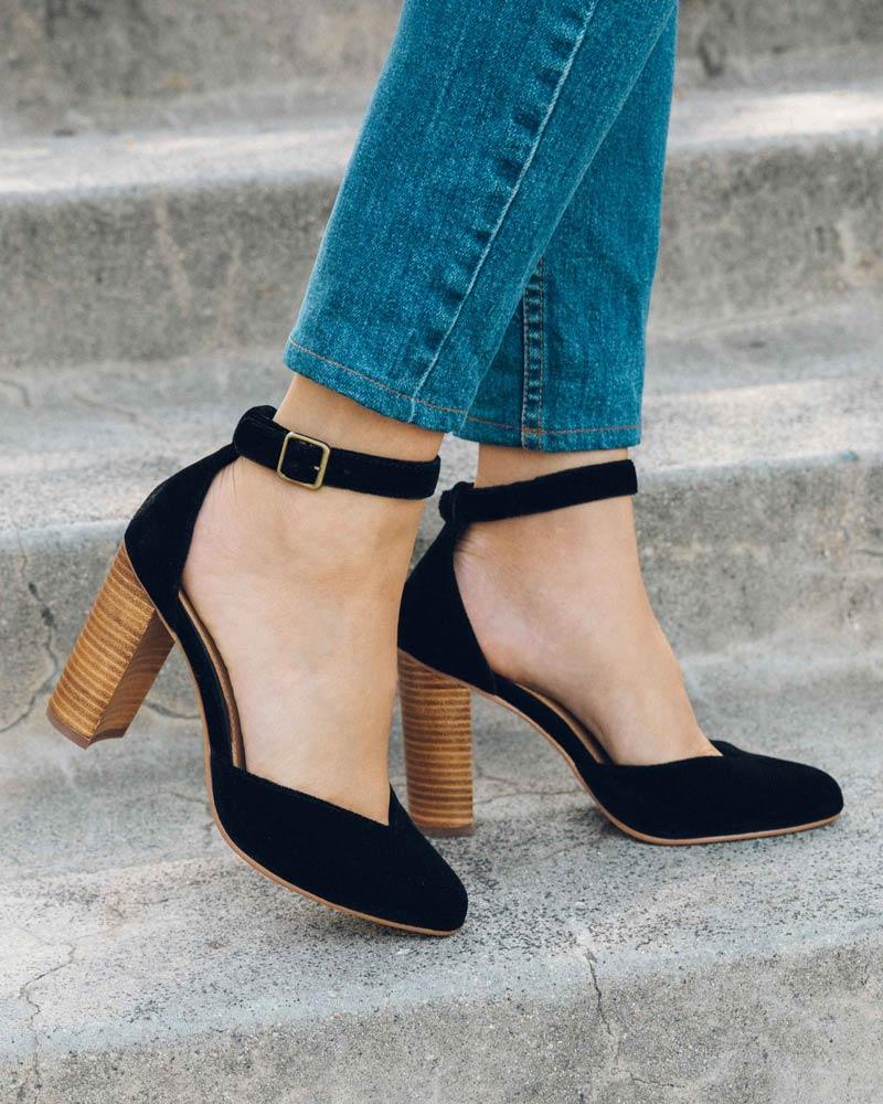 Collette Heel black