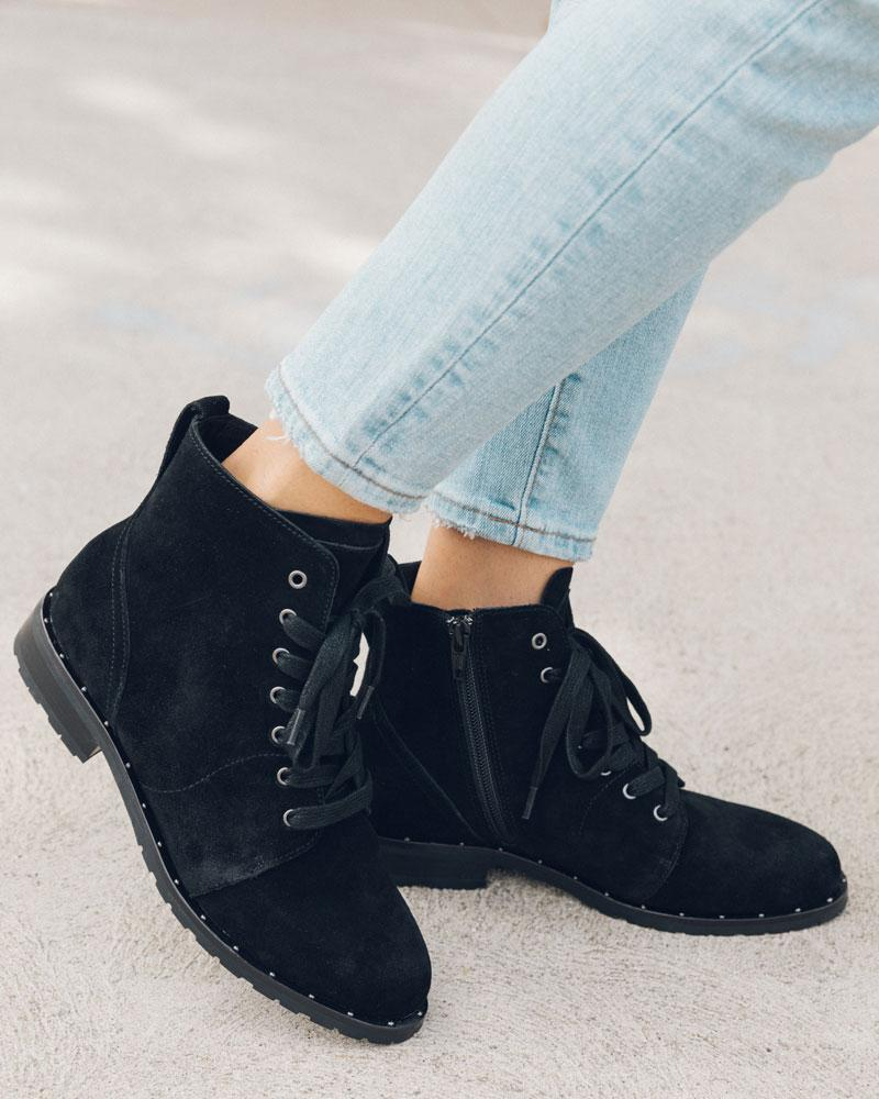 Riley Lace Up Boot