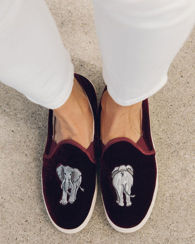 Elephant Slip-On Sneaker