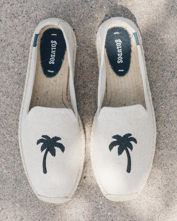 Men's Palm Tree Smoking Slipper image